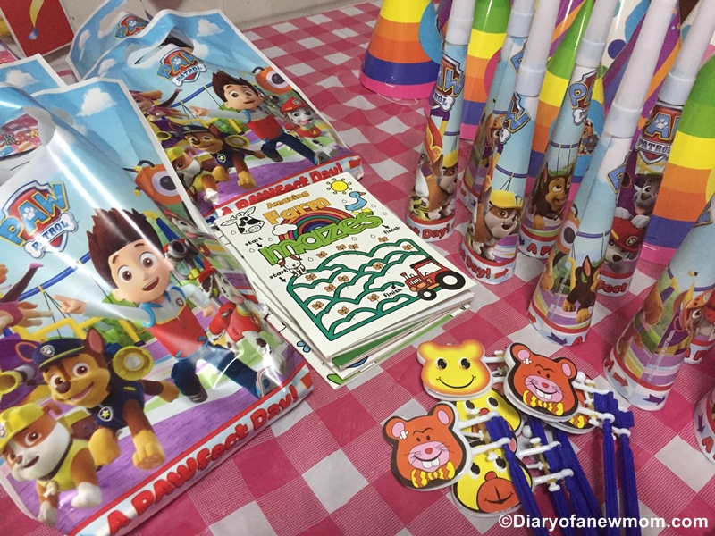 Paw Patrol Birthday Party for 4th Birthday