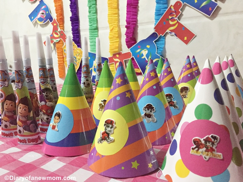 Paw Patrol Birthday party hats