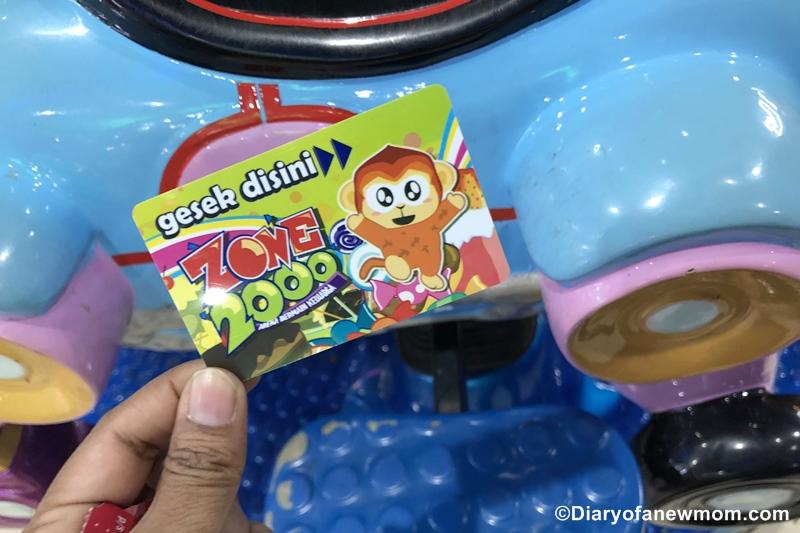 Zone 2000 arcade center Bintan