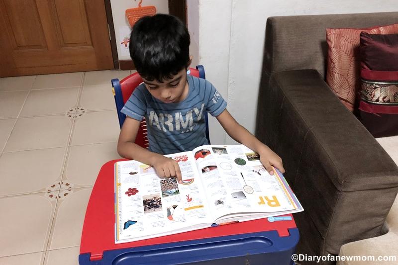 introduce kid a Dictionary