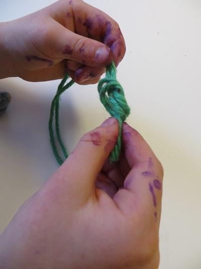 yarn-knot