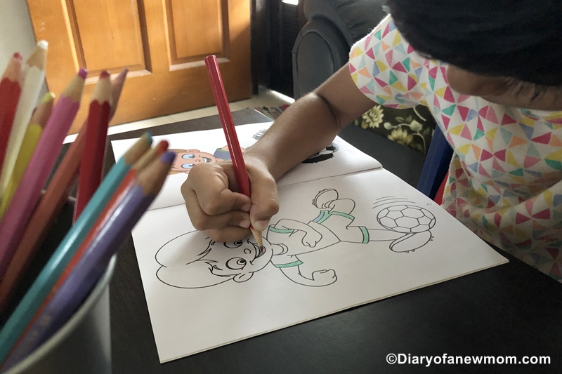 Educational Value of Coloring