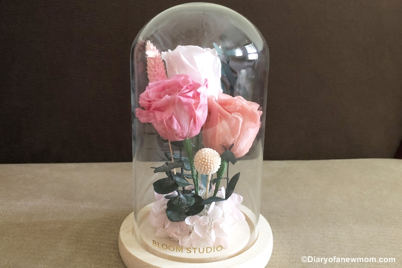 preserved flowers from Bloom Studio Singapore