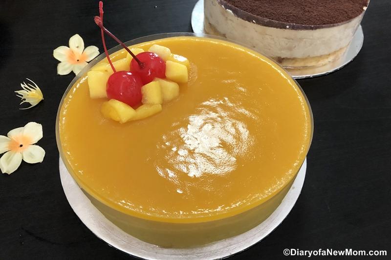 Whyzee Mango Mousse cake