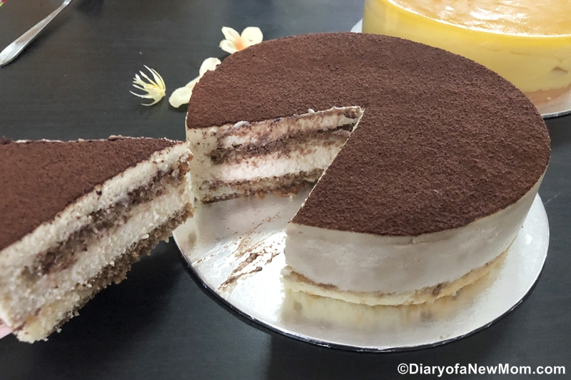 Tiramisu cake review