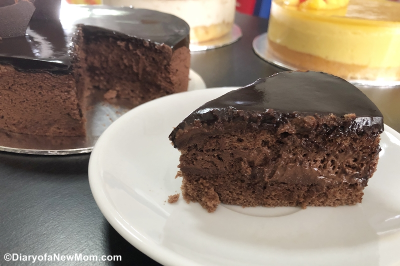 Chocolate Desire cake from Whyzee