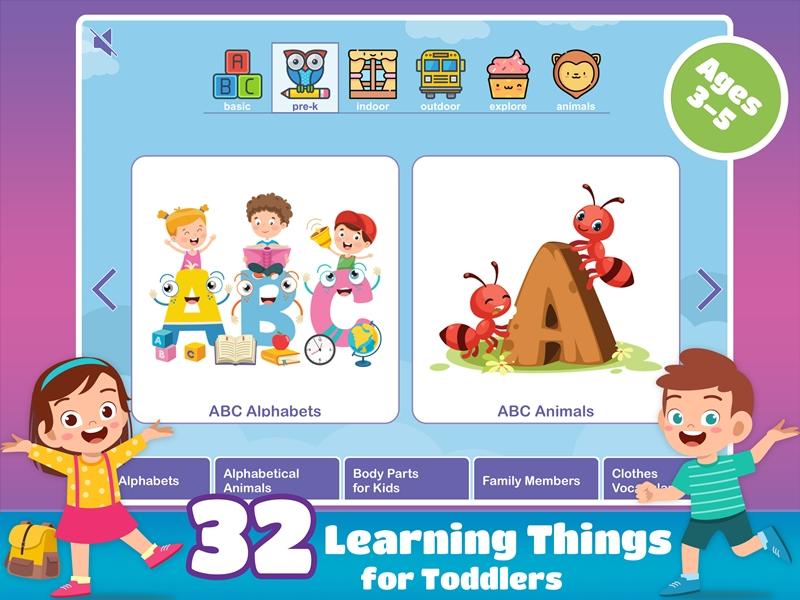 Pre-K Preschool Games For Kids