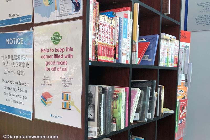 NLB Book Exchange Corner