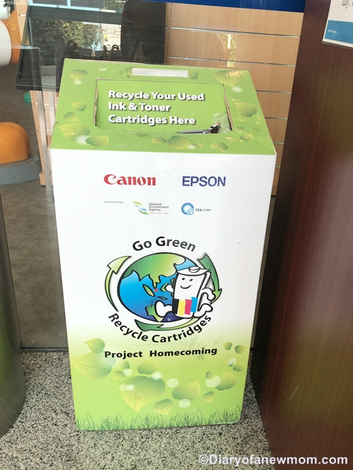 recycle your used ink & toner cartridges Singapore