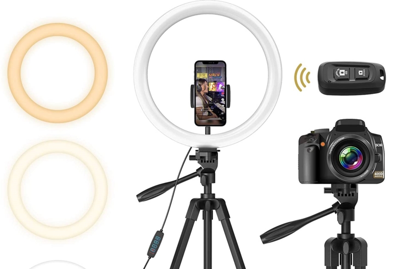 TONOR TRL-20 12-inch Selfie Ring Light Review